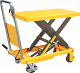 Lifting tables with single shears