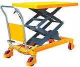 Hidraulic scissor table trucks