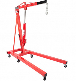 Hand-operated hydraulic TL crane
