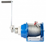 Manual drum-type JHW winch